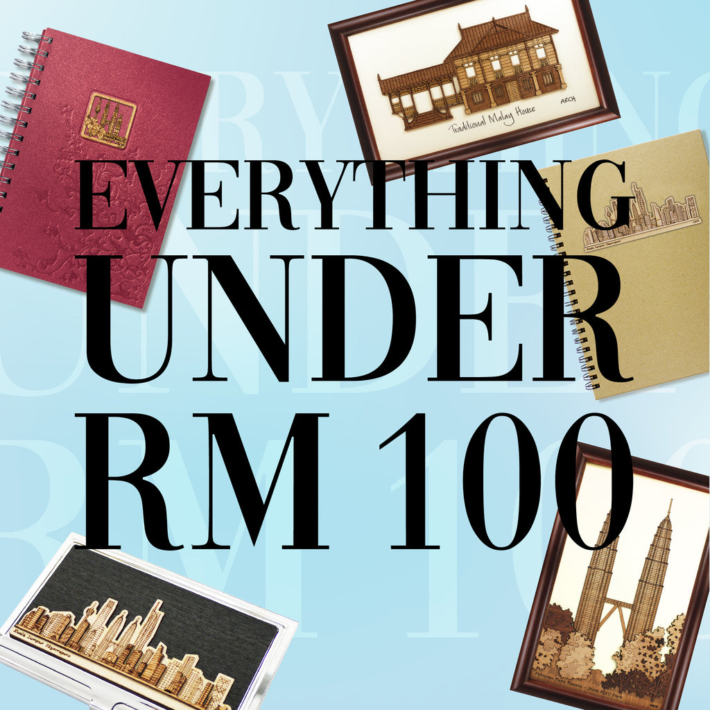 Everything Under RM 100!!
