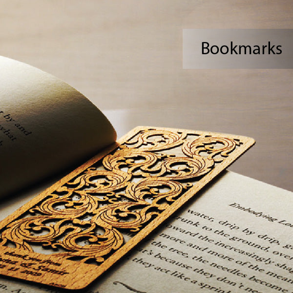 Wood Veneer Bookmarks