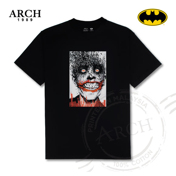 Original DC Comics Joker Bat Eyes KL Scene Unisex Black T Shirt by ARCH