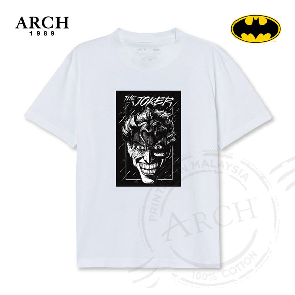 Original DC Comics The Joker Unisex White T-Shirt by ARCH