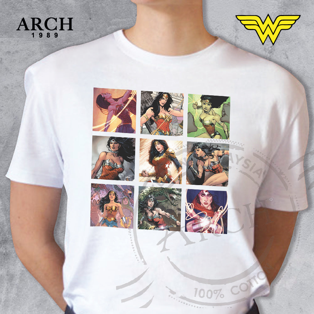Original DC Comics Wonder Woman Unisex Graphic T-shirt