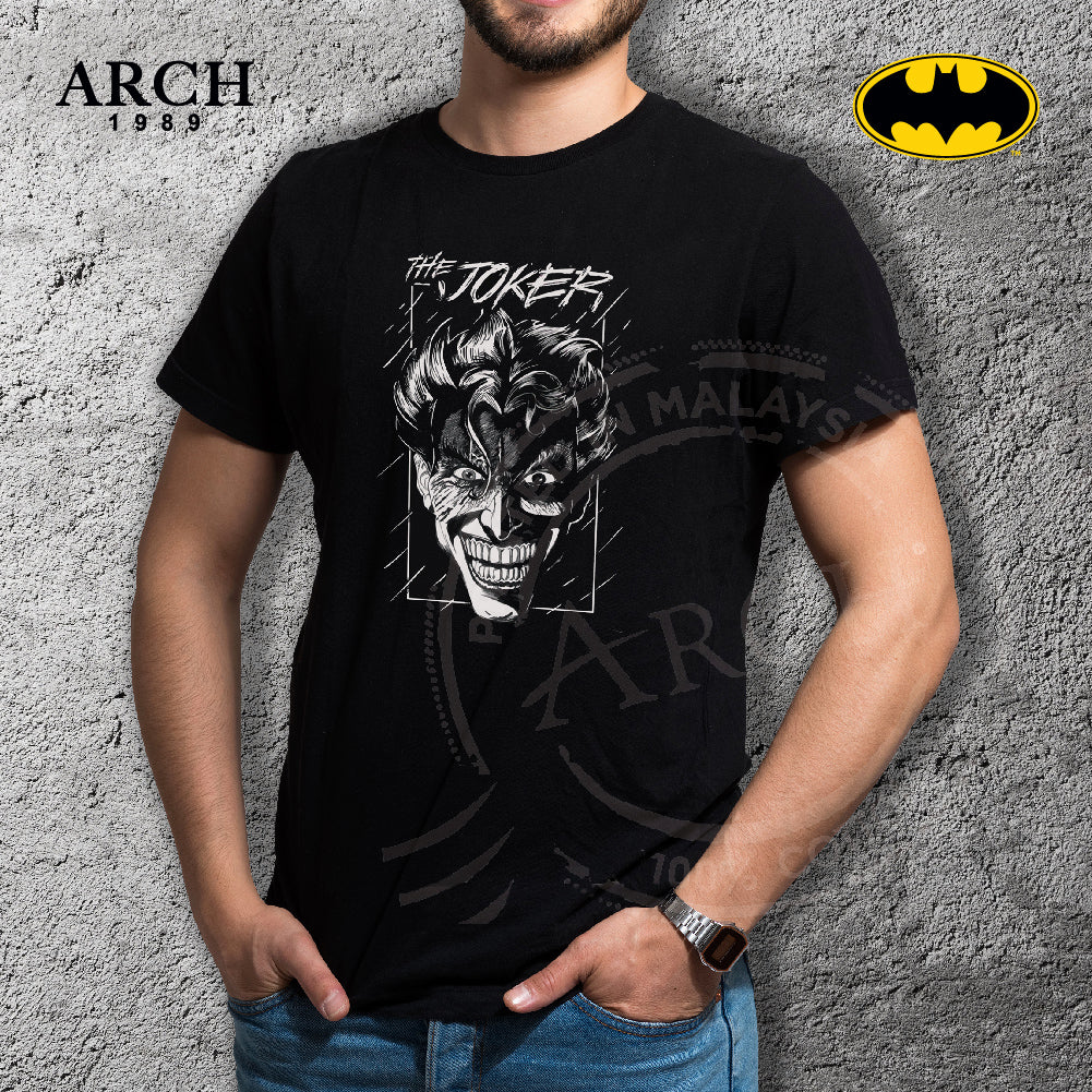 Original DC Comics The Joker Unisex Black T-Shirt by ARCH