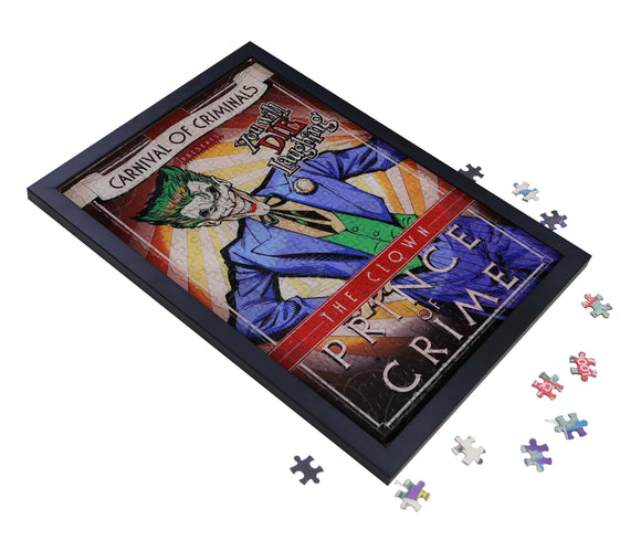 DC Joker Carnival of Criminals Collection 2D Puzzle Framed Art Assembly