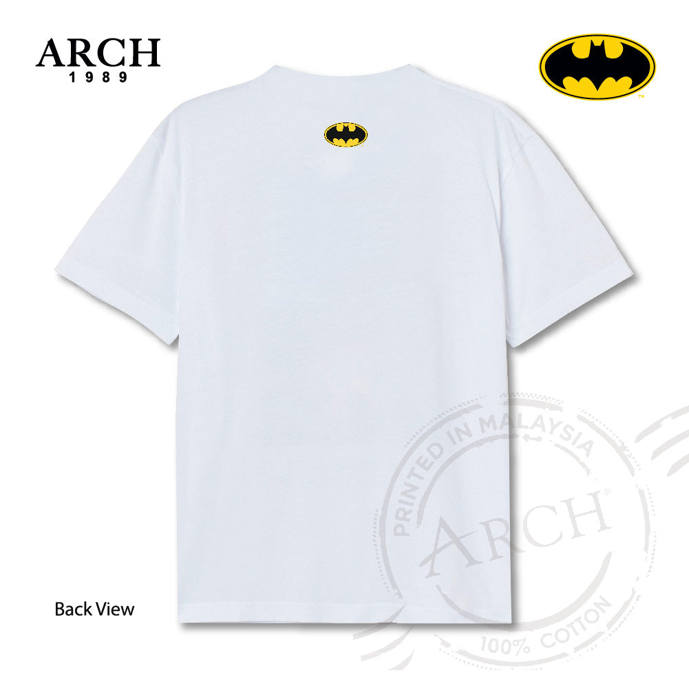 Original DC Joker Vote for Joker Unisex White T-Shirt by ARCH