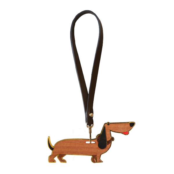 Fashion Accessories: Bag Charms - Dachshund