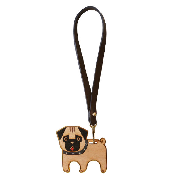 Fashion Accessories: Bag Charms - Pug