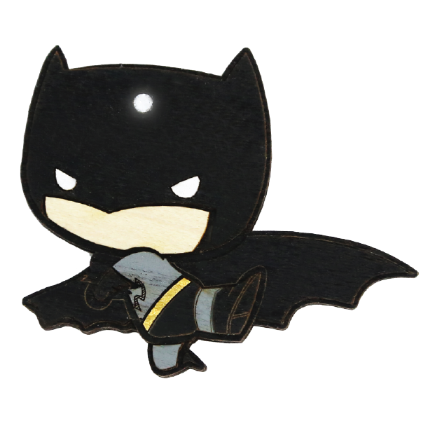 Wood Mood Stickers - Batman