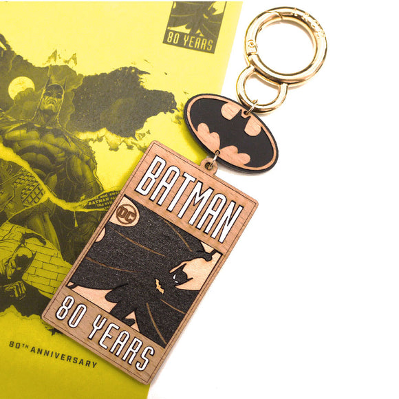 DC Comic Batman 80 Years Key Charm Bag Charm