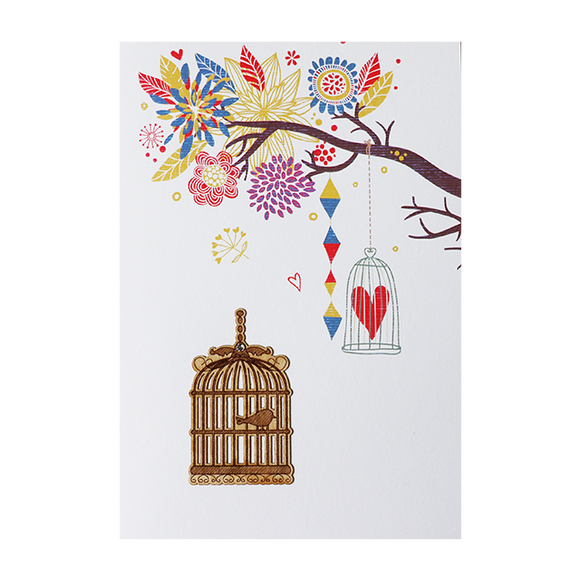 Greeting Cards - Bird Cage