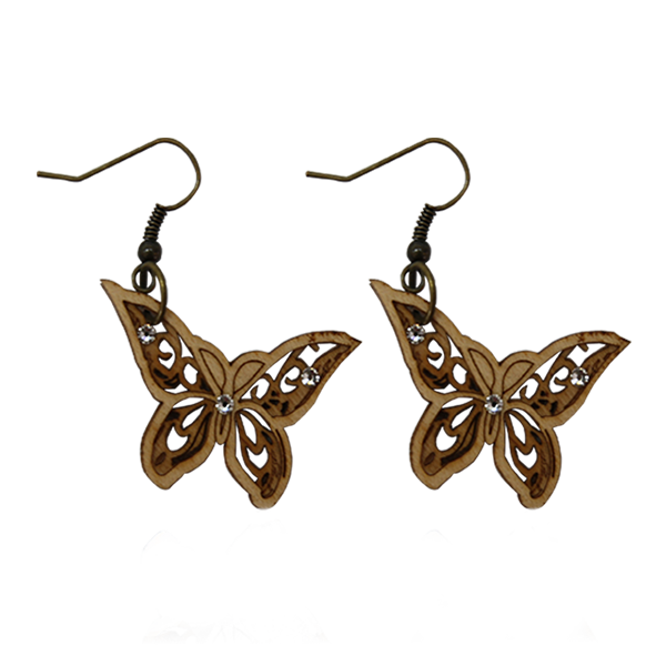 Fashion Accessories: Earrings - Butterfly