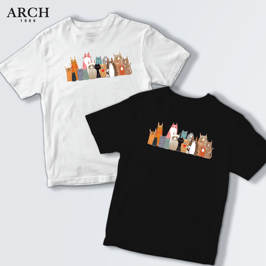 ARCH Cute Cat T Shirt