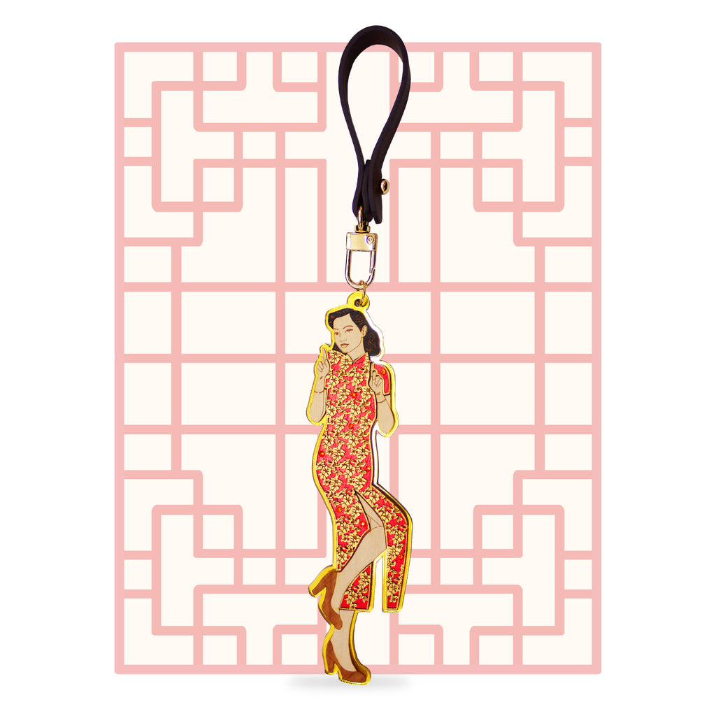 DIVAS OF OLD SHANGHAI, 1930's Bag Charm