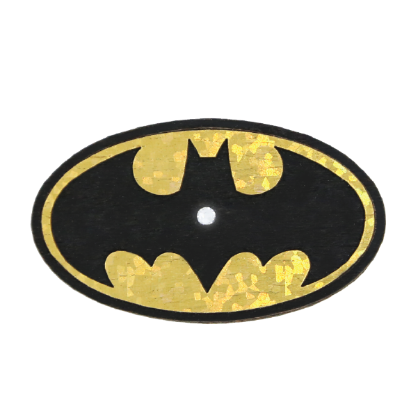 Wood Mood Stickers - Logo Batman