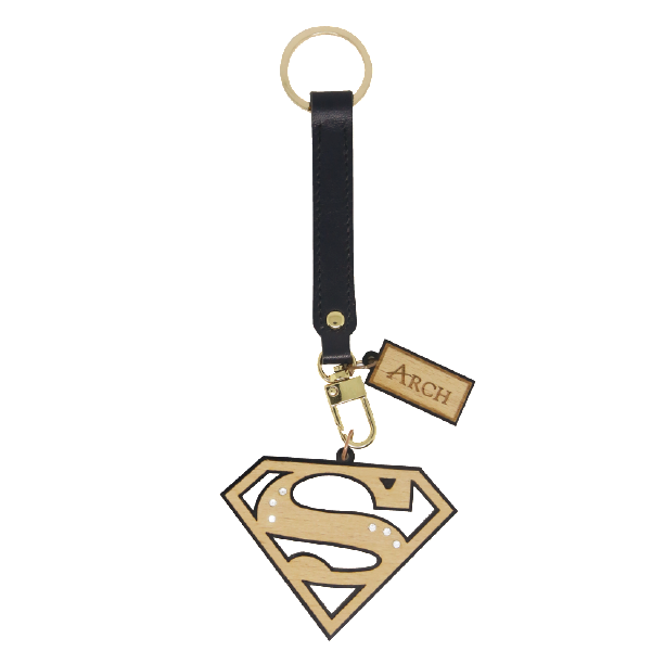 Bag Charms - Logo Superman