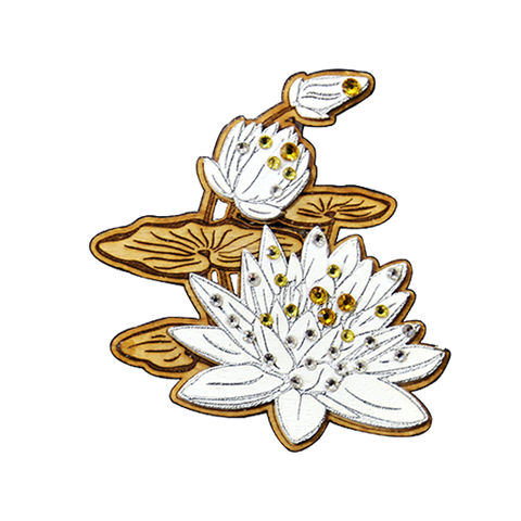 Fashion Accessories: Brooches - Lotus