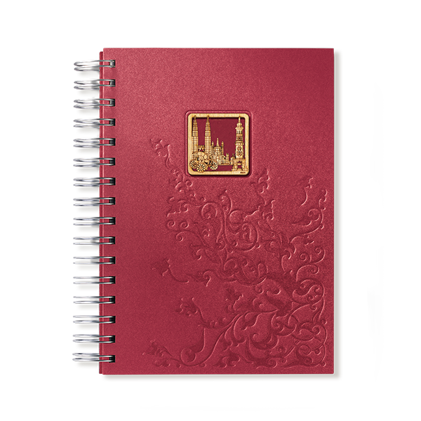 Diaries & Notebooks  - Malaysian Pride - Red Wine