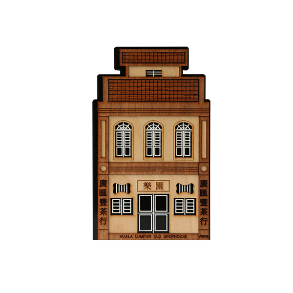 Desktop Set  - Old Shophouses : Transitional