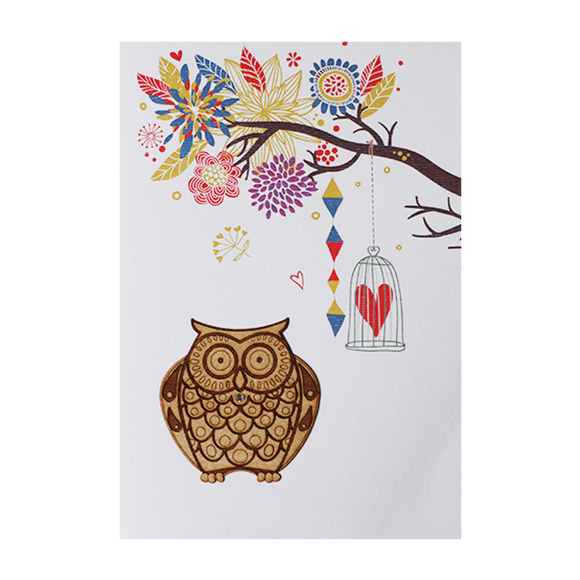 Greeting Cards  - Lovely tree