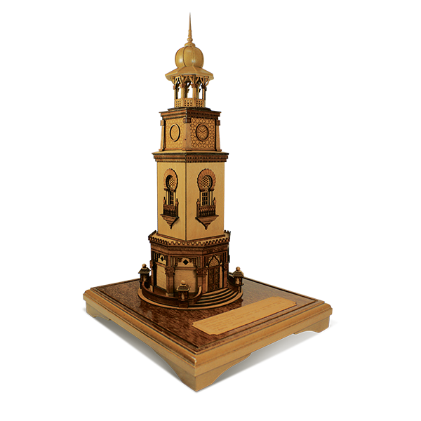 3-D Miniatures  - Penang Clock Tower