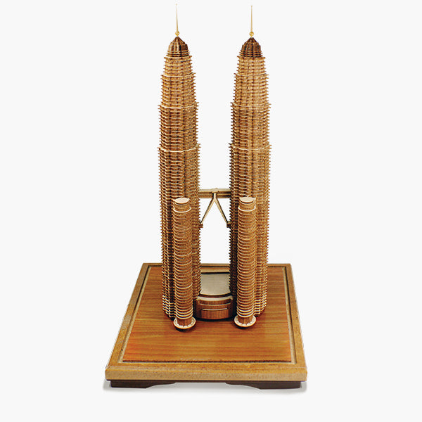 3-D Miniatures  - Petronas Twin Towers