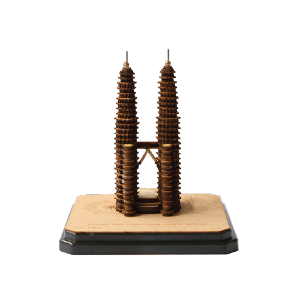 Mini 3-D Miniatures  - Petronas Twin Towers