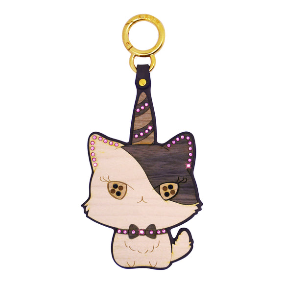 Animal Emotions Collection - Unicorn Cat Bag Charm