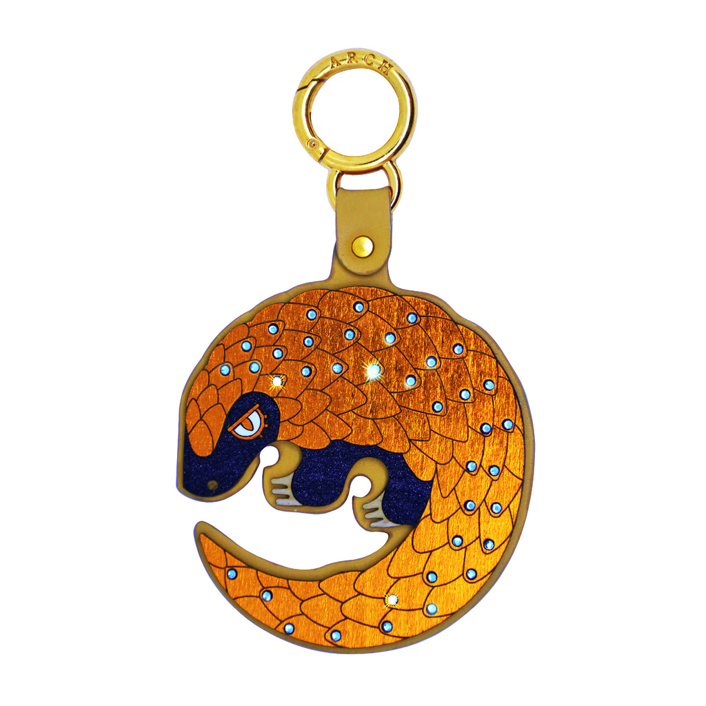Animal Emotions Collection - Pangolin Bag Charm