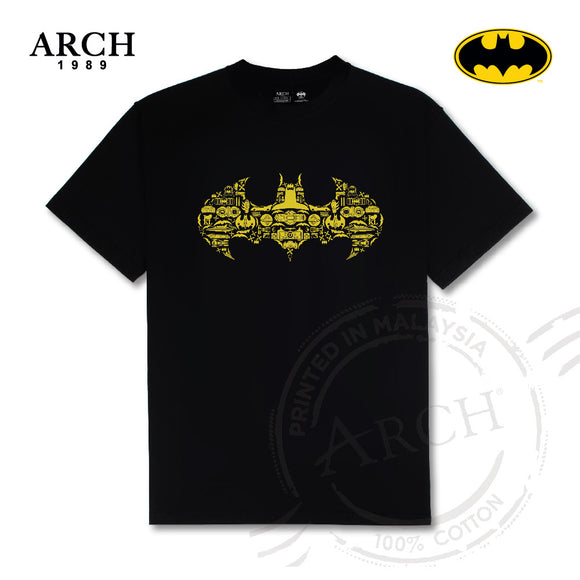 DC BATMAN ICON LOGO T-SHIRT WHITE