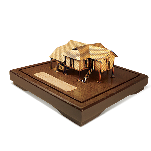 3-D Miniatures  - Traditional Malay House - Perak