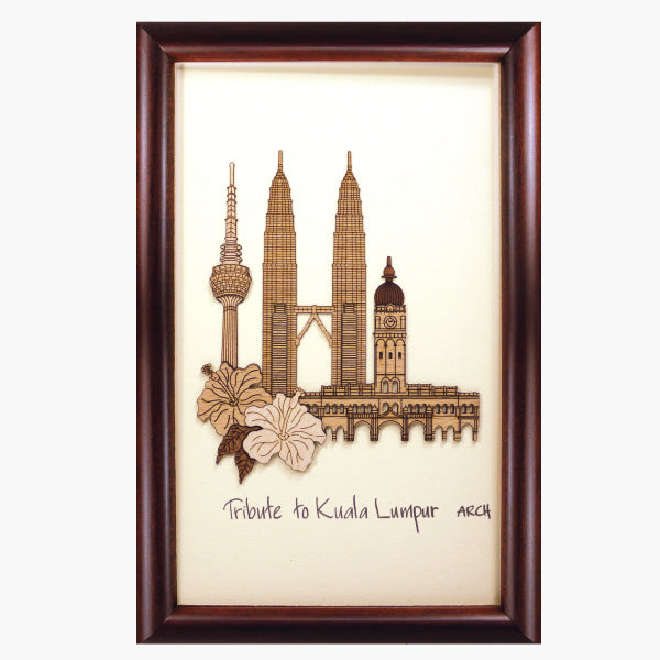 2-D Art Pieces - Tribute to Kuala Lumpur