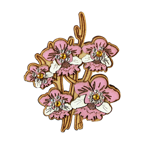 Fashion Accessories: Brooches - Vanda Miss Joaquim