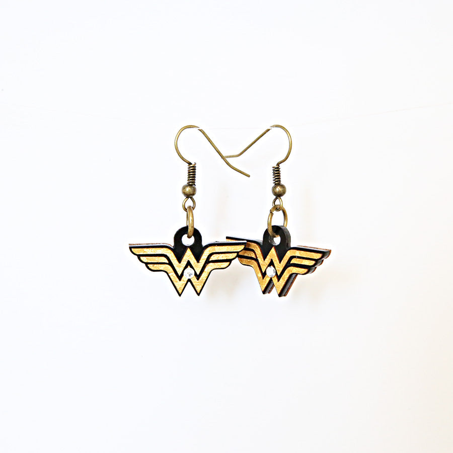 Earrings - Logo Wonder Woman