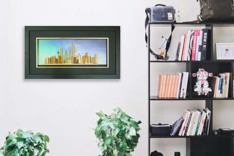 2-D Art Pieces  - Kuala Lumpur Skyscrapers Collection 2019