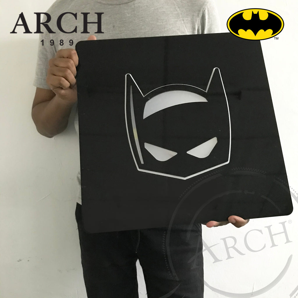 Original Justice League Decorative LED Wall Light Box Batman Mask