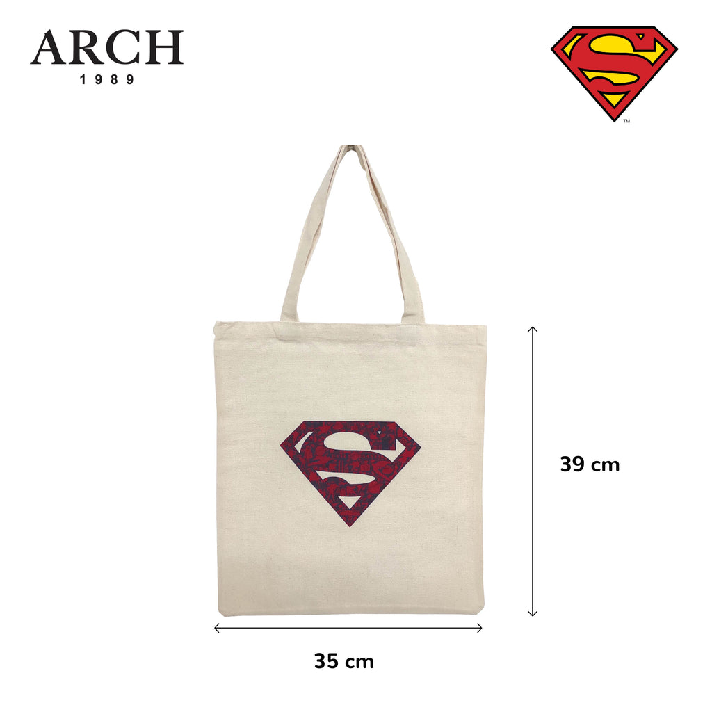 Original Licensed DC Justice League Fashion Tote Bags - Superman logo