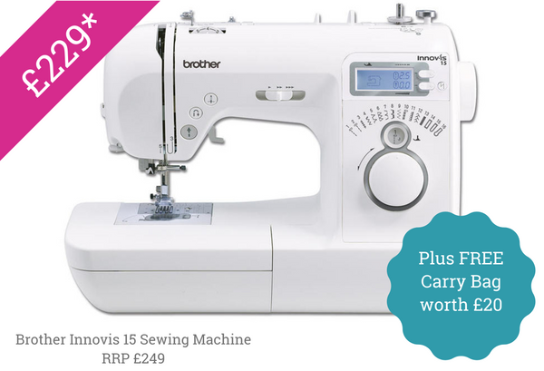 Brother Innovis 15 Sewing machine special offer