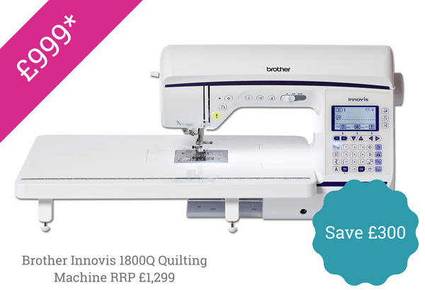 Brother Innovis 1800Q Sewing quilting machine special offer