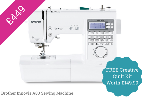 Brother A80 Sewing machine special offer