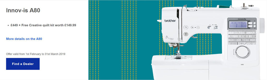 Innovis A80 Sewing machine brother