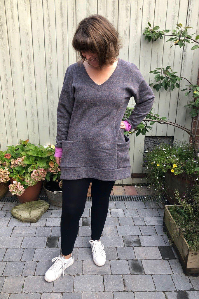 Cosy Jersey Dress Crafty Bloggers Club