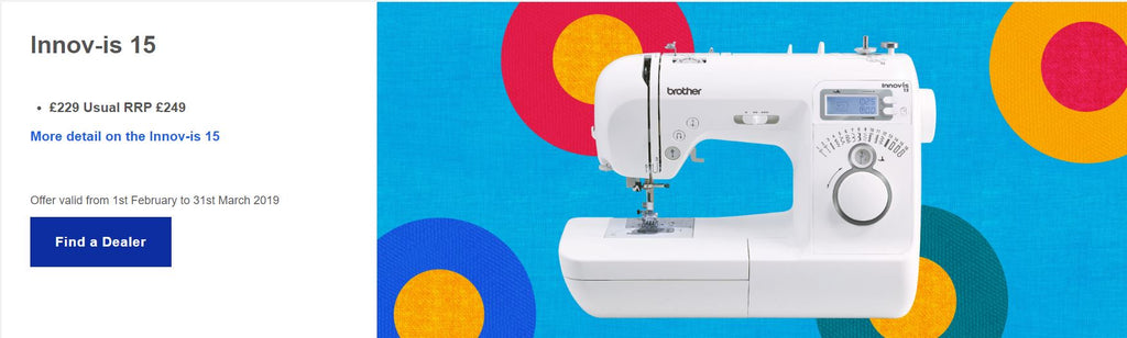 Innov-is 15 Brother sewing machine