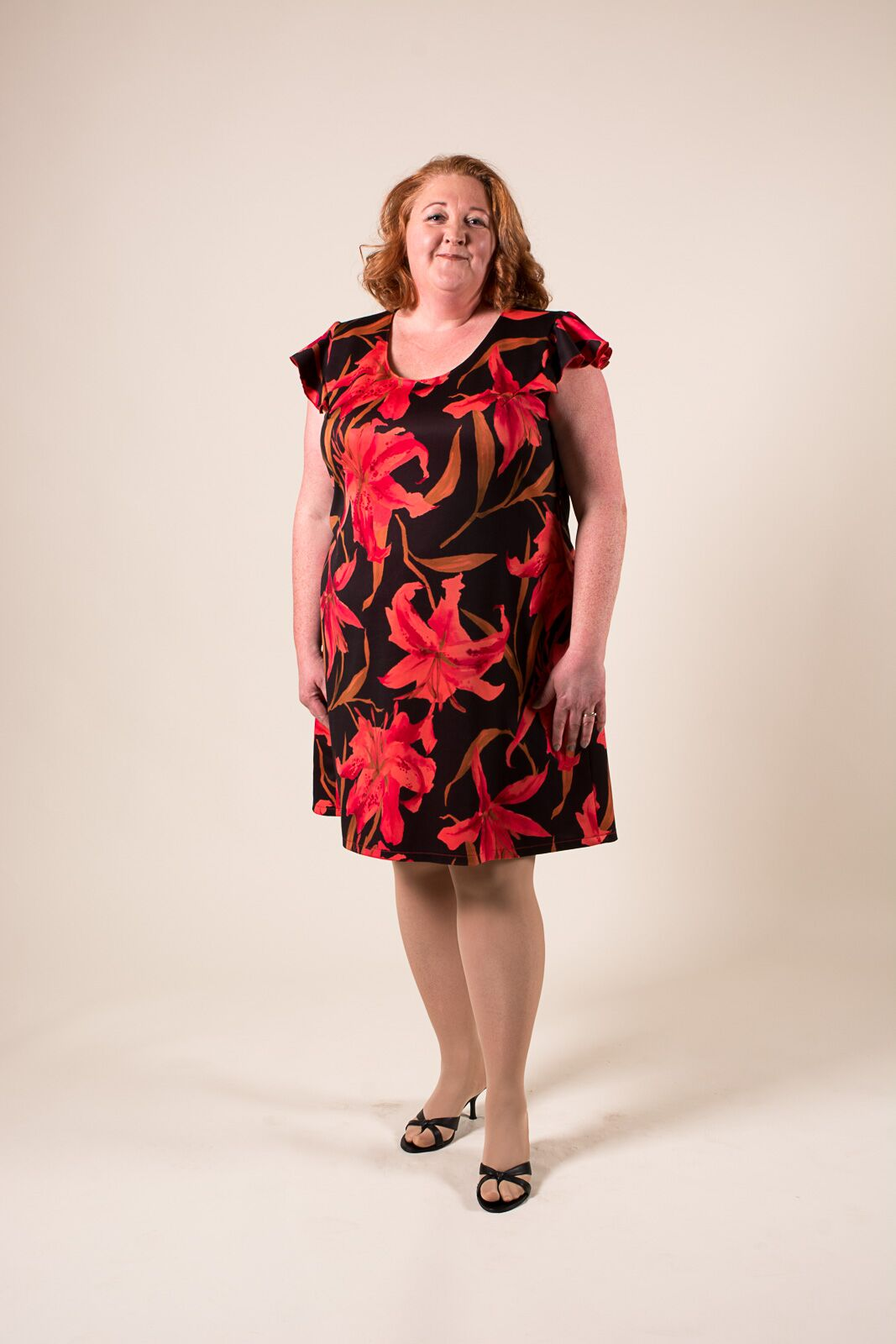 tracy in an everyday amazing shift dress