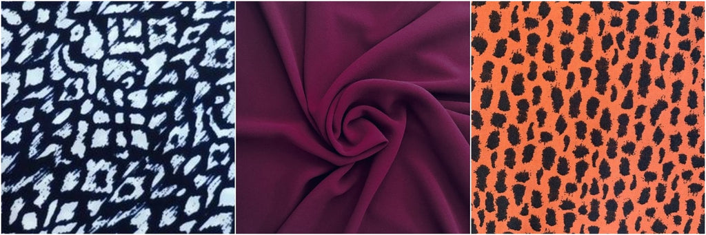 crepe fabrics for party dresses