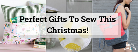 perfect gifts to sew this christmas