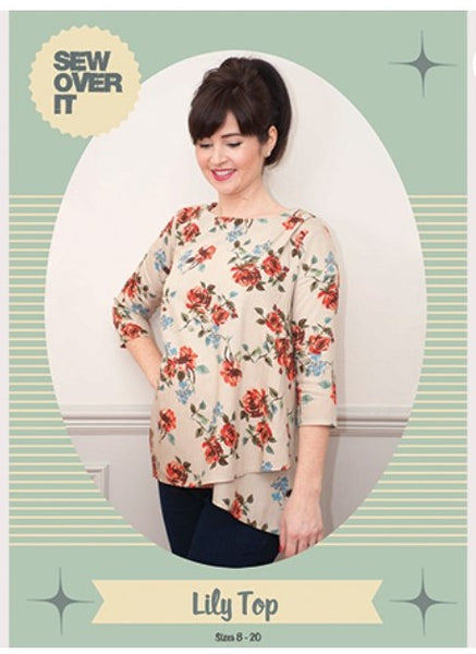 Sew Over it lilly top maternity pattern