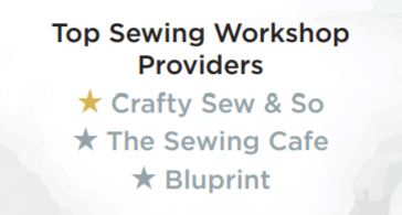 Top sewing workshop providers awards