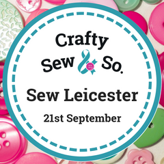 Sew leicester 2019 crafty sew and so event