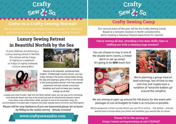 sewing retreats