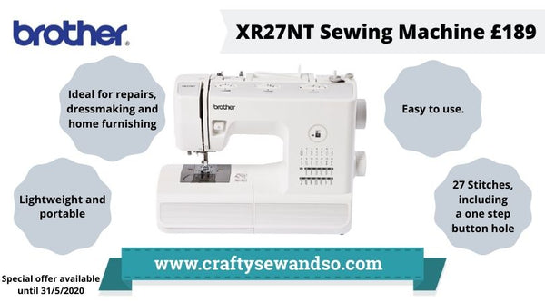 Brother XR27NT Sewing machine special offer