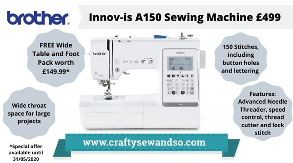 Brother A150 Sewing machine special offer
